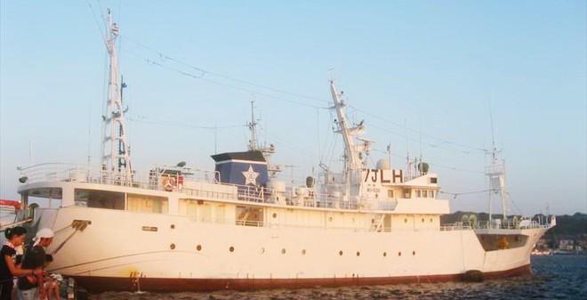 Khám phá tàu kiểm ngư Nhật Bản viện trợ cho Việt Nam
