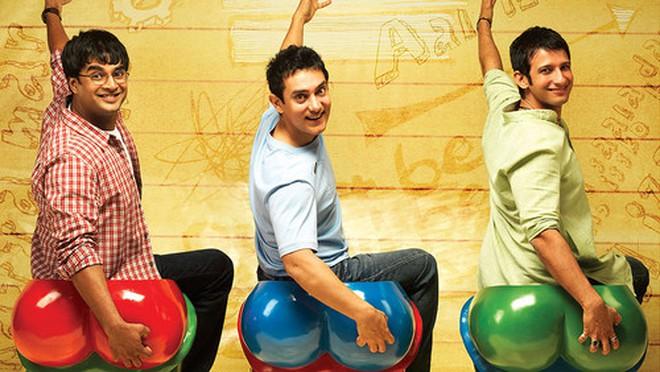 """Những bài học cuộc sống từ bộ phim Ấn Độ """"3 idiots"""""""