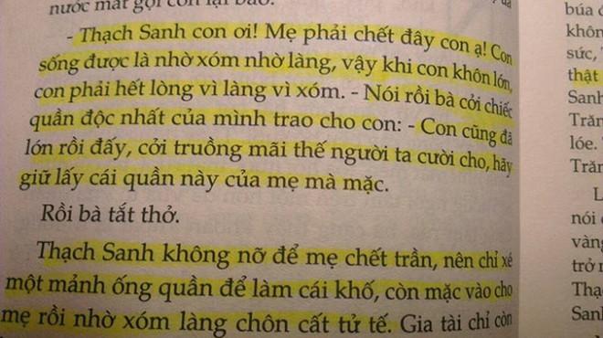 """Yêu cầu thẩm định truyệnThạch Sanh """"cởi truồng"""""""