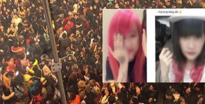 Bóc mẽ bức ảnh nghìn người náo loạn xem 2 cô gái đánh nhau