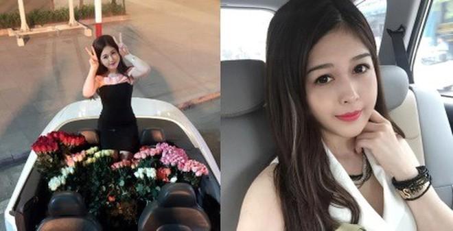 Chân dung cô nàng xinh đẹp được bạn trai lái xế sang, tặng 999 đóa hồng ...