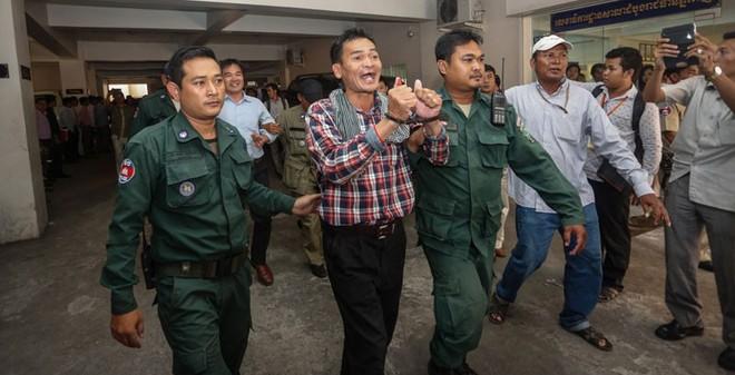Campuchia kết án 11 thành viên CNRP nổi loạn chống chính phủ
