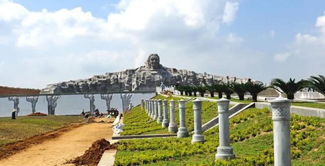 Cận cảnh tượng đài 411 tỷ đồng lớn nhất Đông Nam Á ở Quảng Nam