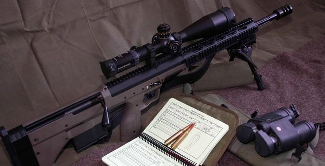 Desert Arms SRS - Súng bắn tỉa bullpup đa cỡ nòng siêu nhỏ của Mỹ
