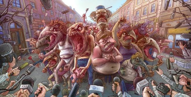 Image result for sự độc ác của đám đông