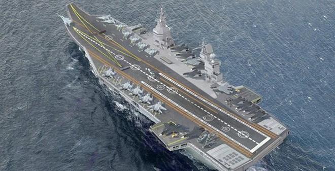 """""""Nga sai lầm lớn nếu đóng siêu tàu sân bay"""""""