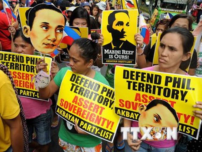 Philippines sẽ tổ chức biểu tình trước Đại sứ quán Trung Quốc
