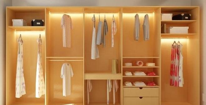 Những điều cần biết cho phong thủy của tủ quần áo