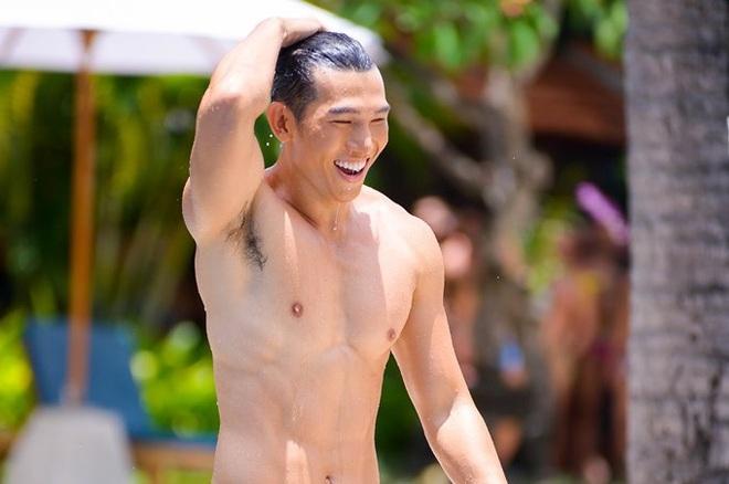 Ngọc Tình lọt top 15 khi trình diễn đồ bơi tại cuộc thi Nam vương - Ảnh 1.