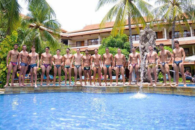 Ngọc Tình lọt top 15 khi trình diễn đồ bơi tại cuộc thi Nam vương - Ảnh 2.