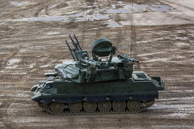 ẢNH+VIDEO: Khí tài quân sự Nga trình diễn tại Army-2016 - Ảnh 6.
