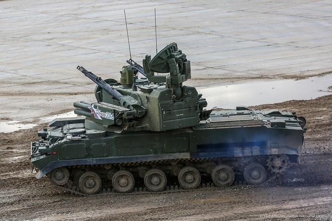 ẢNH+VIDEO: Khí tài quân sự Nga trình diễn tại Army-2016 - Ảnh 7.