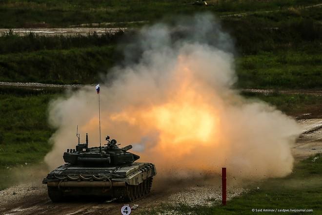 ẢNH+VIDEO: Khí tài quân sự Nga trình diễn tại Army-2016 - Ảnh 18.