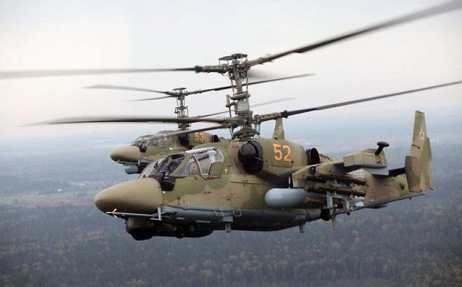 Sức mạnh trực thăng tấn công thuộc Top 5 vũ khí nguy hiểm nhất của Nga vào năm 2030