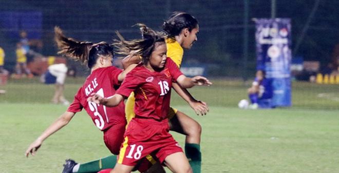 Thất bại trước Astralia, U16 nữ Việt Nam lỡ hẹn với VCK giải U16 nữ châu Á 2017