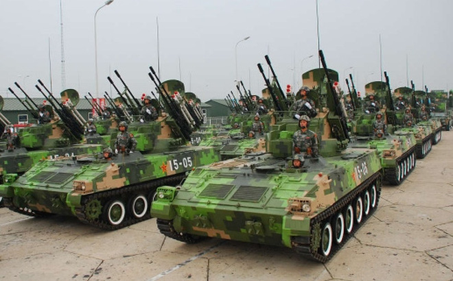 Pháo phòng không tự hành Type 95 SPAAA của Trung Quốc nguy hiểm đến mức nào?