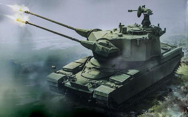 Phương án hoán cải xe tăng T-54/55 thành pháo phòng không tự hành đáng để tham khảo