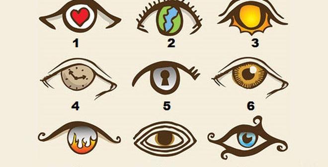 Bạn là người nóng tính nếu sở hữu đôi mắt này!