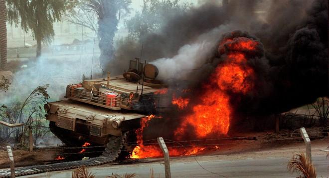 Стало известно, из чего подбили американский Abrams в Йемене