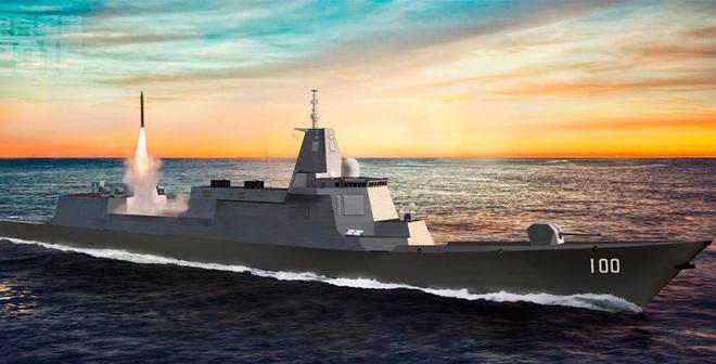 TQ sẽ dùng chiến hạm 10.000 tấn hộ tống tàu sân bay nội địa?