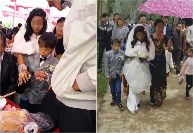 Đám cưới Bạch tuyết và chú lùn ở Hà Tĩnh gây xôn xao - Ảnh 1.