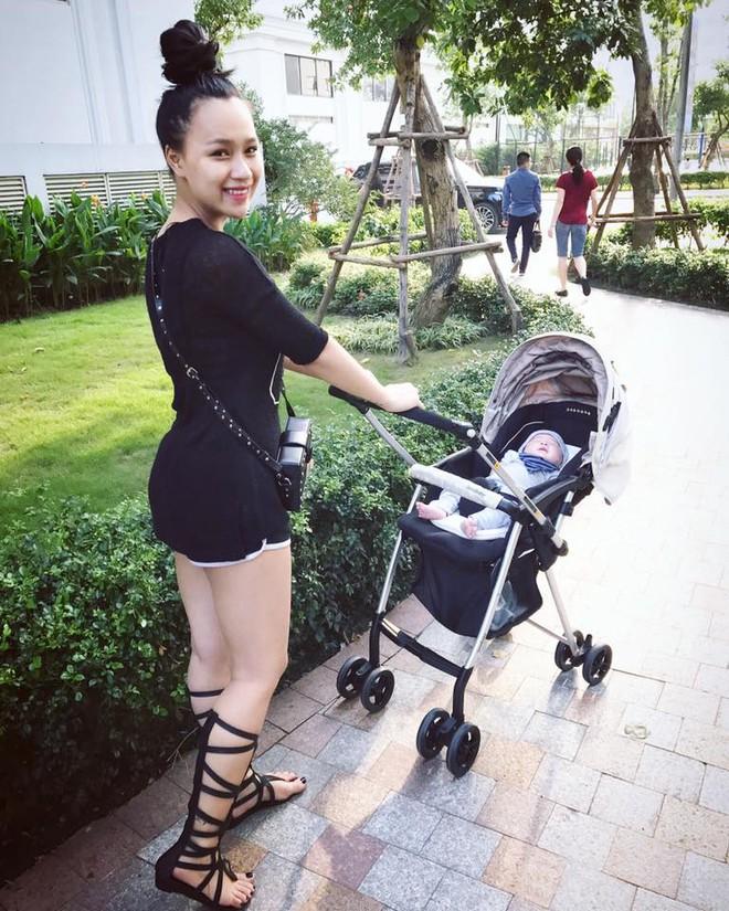 DJ Tít vẫn mặc bốc lửa sau khi sinh con 1 tháng - Ảnh 2.