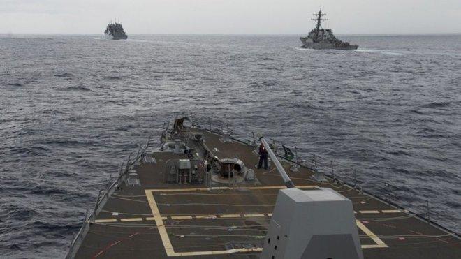 Trung Quốc đưa trái phép không quân ra quần đảo Hoàng Sa - Ảnh 1.