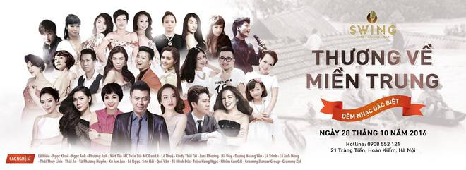 Soha.vn và 25 nghệ sĩ tổ chức đêm nhạc gây quỹ ủng hộ miền Trung - Ảnh 2.