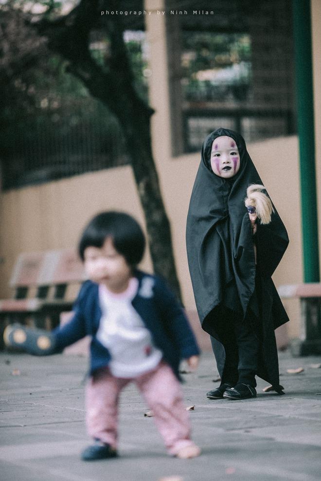 Cô bé Vô Diện phiên bản Việt dễ thương khiến dân mạng rần rần chia sẻ - Ảnh 12.