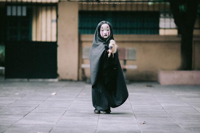 Cô bé Vô Diện phiên bản Việt dễ thương khiến dân mạng rần rần chia sẻ - Ảnh 9.