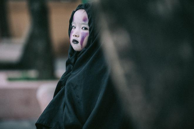 Cô bé Vô Diện phiên bản Việt dễ thương khiến dân mạng rần rần chia sẻ - Ảnh 3.