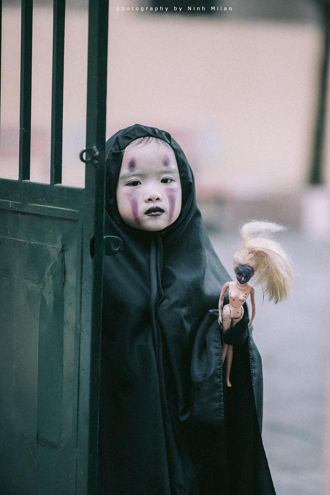 Cô bé Vô Diện phiên bản Việt dễ thương khiến dân mạng rần rần chia sẻ - Ảnh 8.