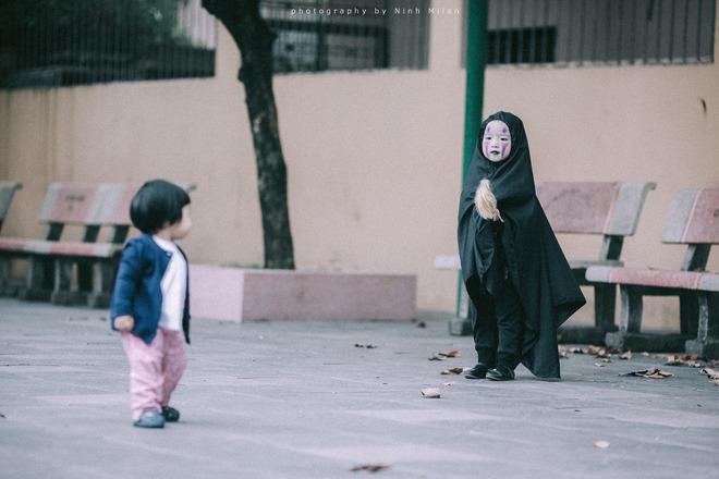 Cô bé Vô Diện phiên bản Việt dễ thương khiến dân mạng rần rần chia sẻ - Ảnh 7.