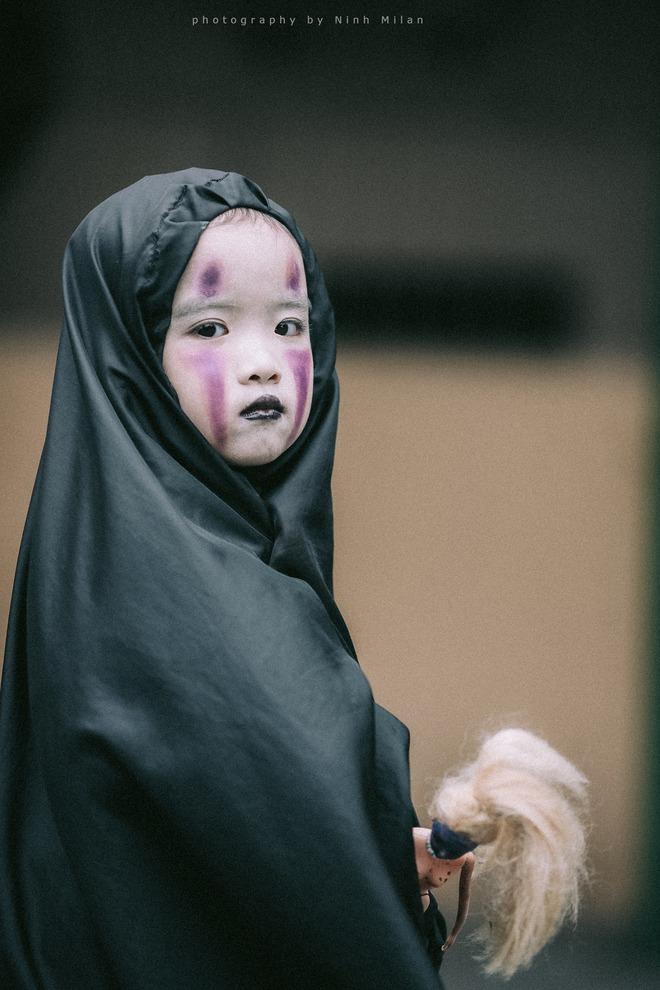 Cô bé Vô Diện phiên bản Việt dễ thương khiến dân mạng rần rần chia sẻ - Ảnh 6.