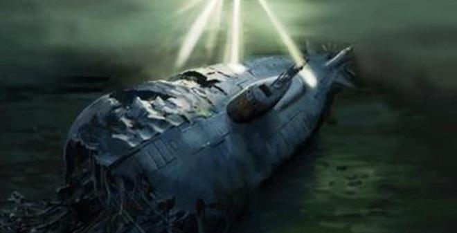 Tàu ngầm nguyên tử Komsomolets của Liên bang Xô viết bị nạn vào năm 1989
