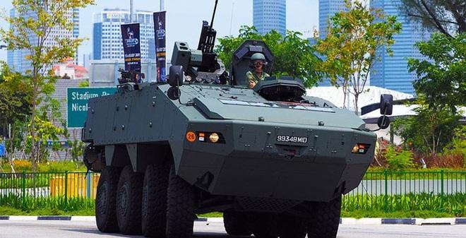 Xe thiết giáp dành cho xuất khẩu của Singapore có cơ hội tại VN?