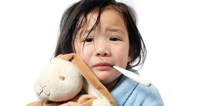 Một số bệnh trẻ có thể gặp trong mùa mưa