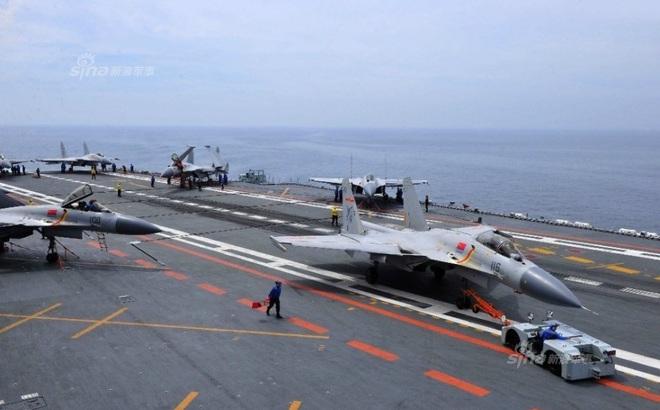 Chuyên gia TQ: Số lượng máy bay, phi công trên tàu Liêu Ninh chưa đạt tiêu chuẩn tác chiến