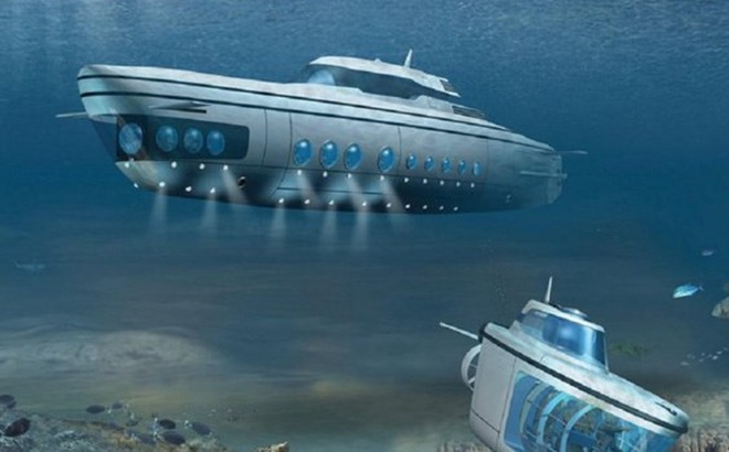 Tàu ngầm được phát minh dựa vào điều gì?