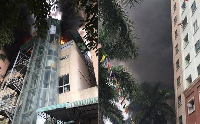 Cháy chung cư Xa La, dân nháo nhào tháo chạy