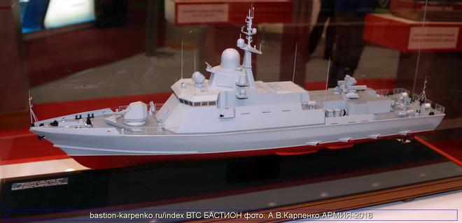 Nga chào bán tàu tên lửa tấn công nhanh 22800E Karakurt-E cho VN! - Ảnh 1.