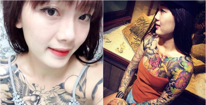 Cô gái xăm kín ngực: 'Thân xác này của tôi, không phải của thiên hạ'