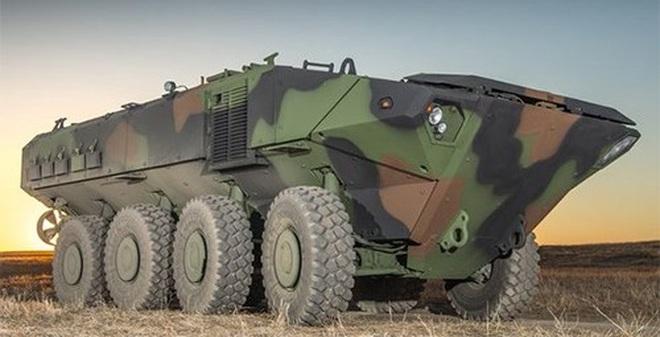 BAE Systems giới thiệu xe thiết giáp lội nước thế hệ mới