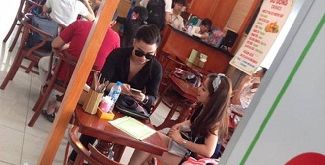 Bắt gặp Hữu Công xuất hiện bên gái lạ sau khi chia tay Linh Miu