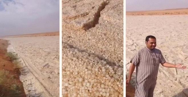 """Giải mã hiện tượng kỳ bí: """"dòng sông cát"""" chảy giữa sa mạc"""