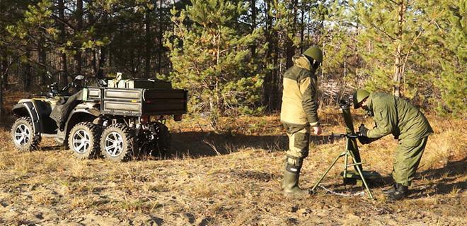 Món đồ chơi thú vị của Lính dù Nga - Ảnh 3.