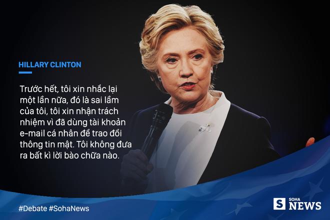 Tranh luận trực tiếp lần thứ hai giữa Trump và Clinton - Ảnh 2.