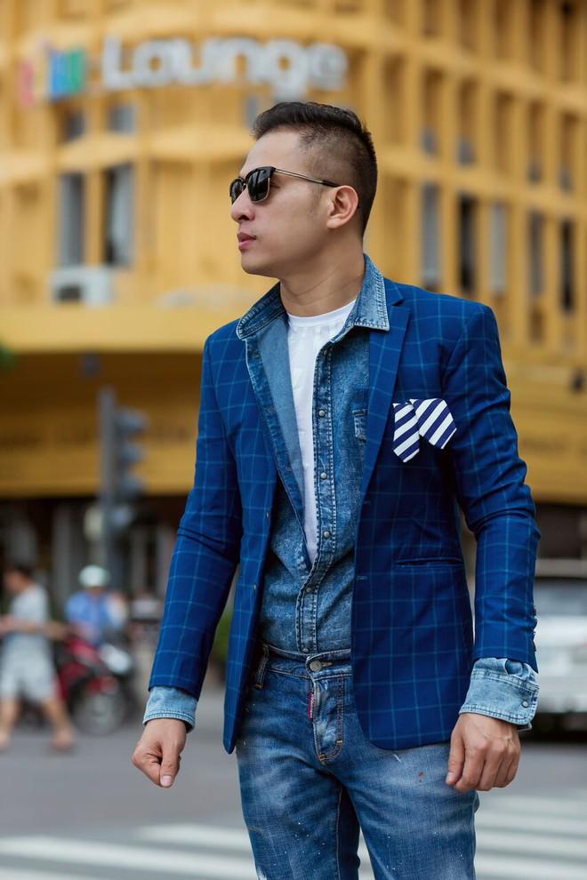 Fashionisto Nguyễn Minh Khoa sành điệu xuống phố - Ảnh 7.