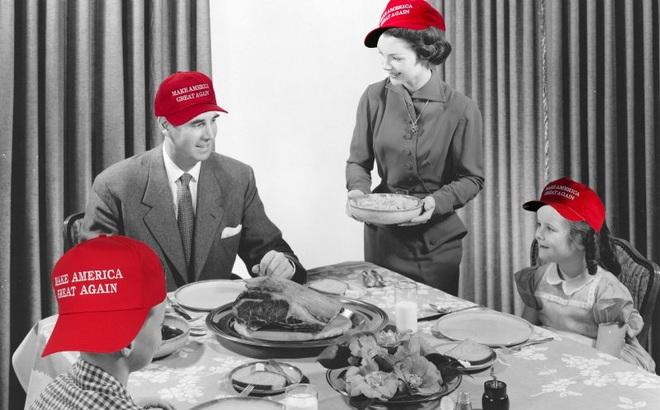 Lễ tạ ơn ở Washington DC: Người Mỹ học cách không cãi vã vì Trump, Clinton trong bữa ăn đoàn tụ