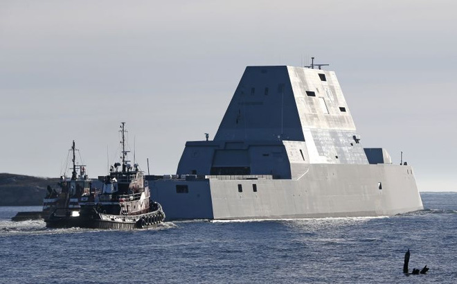 Linh kiện Trung Quốc khiến siêu hạm 4,4 tỷ USD của Mỹ ngất giữa đường?